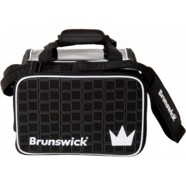 BRUNSWICK CROWN 1 BAG BALL BLACK