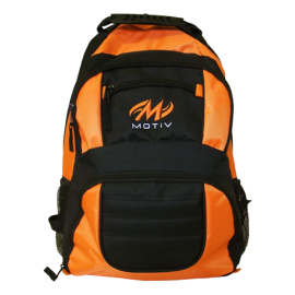 ZIPLINE BACKPACK BLACK-ORANGE