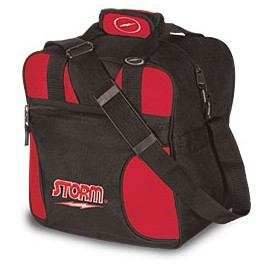 STORM 1 BALL BAG SOLO RED - BLACK