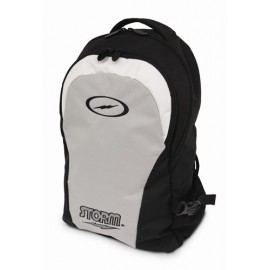 BACK PACK BLACK SILVER STORM