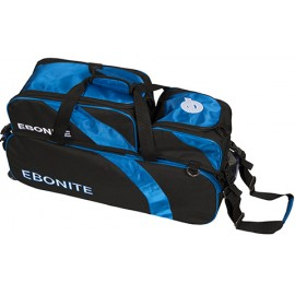 EBONITE EQUINOX TRIPLE TOTE + SHOE POUCH BLACK BLUE