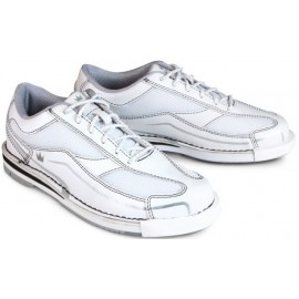 BRUNSWICK SHOES WOMEN TEAM WHITE SILVER RIGHT HAND