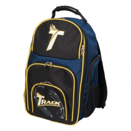 TRACK PREMIUM BACKPACK BLACK NAVY YELLOW