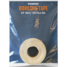 "BRUNSWICK TAPE 1"" WHITE ROLL 250 pcs"
