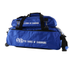 VISE 3-BALL CLEAR TOTE WITH SHOE BAG BLUE