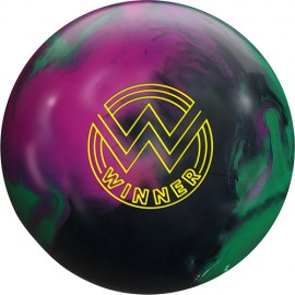 ROTO GRIP WINNER SOLID BLACK PURPLE GREEN