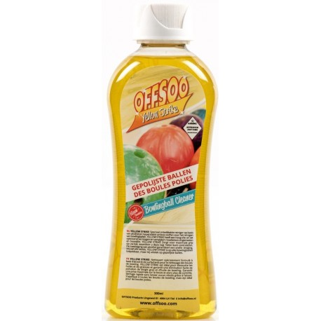 OFFSOO BOWLING BALL CLEANER YELLOW STRIKE 300ml