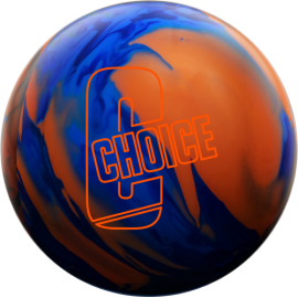 EBONITE CHOICE SOLID BLUE DARK BLUE ORANGE