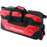 PRO BOWL TRIPLE TOTE W/ SHOE BAG BLACK/RED