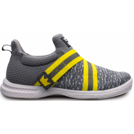 BRUNSWICK SHOES MEN'S SLINGSHOT GREY/YELLOW