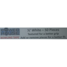 POWERHOUSE INSERT TAPE WHITE 1/2 PACK x50