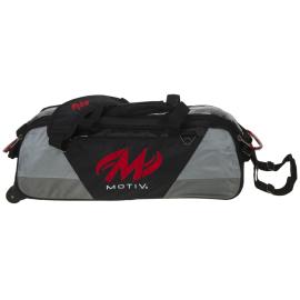 MOTIV BALLISTIX 3-BALL TOTE BLACK RED