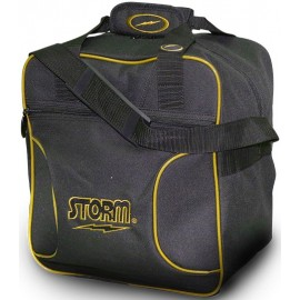 STORM BAG 1 BALL SOLO TOTE GOLD BLACK