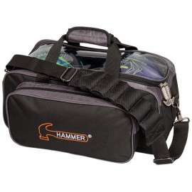HAMMER PREMIUM DOUBLE TOTE BLACK CARBON