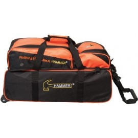 HAMMER PREMIUM TRIPLE TOTE W/REMOVABLE POUCH