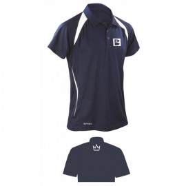 BRUNSWICK POLO BLUE/WHITE