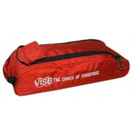 VISE SHOES BAG ADD-ON FOR 3 BALL TOTE RED