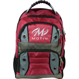 MOTIV BACK PACK INTREPID RED
