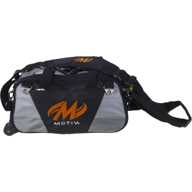 MOTIV BALLISTIX 2-BALL TOTE BLACK ORANGE