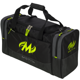 MOTIV SHOCK 2-BALL TOTE GREY LIME