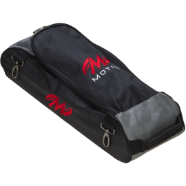MOTIV BALLISTIX SHOE BAG FOR TRIPLE TOTE - BLACK RED