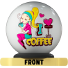OTB I LOVE COFFEE BALL